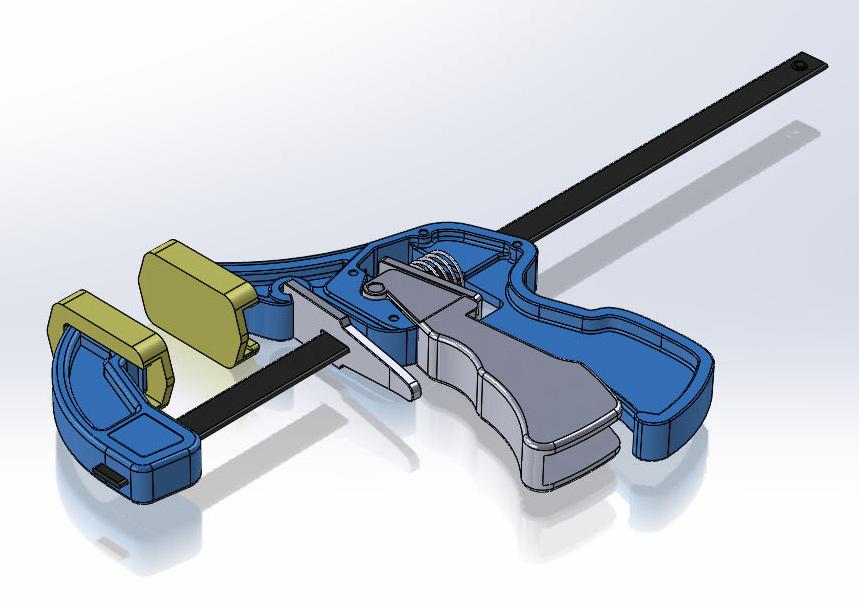 Corkscrew CAD Rendering